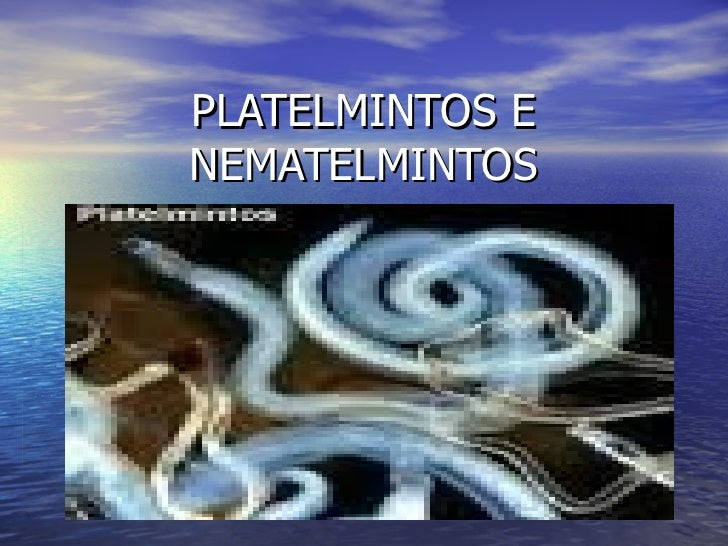 PLATELMINTOS ENEMATELMINTOS