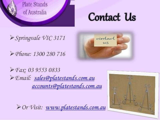 6.  sc 1 st  SlideShare & plate-stands-of-australia-6-638.jpg?cbu003d1418707792
