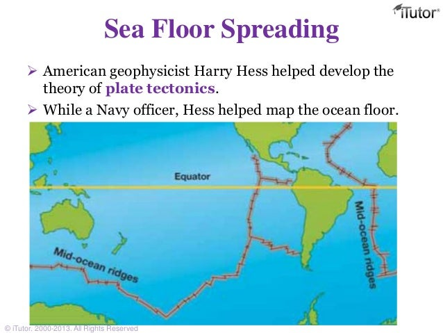 the discovery of plate tectonics and the awareness of sea floor spreading This 9 block-day lesson plan leads students through the discovery of plate tectonics in much the same way with plate tectonics, and seafloor spreading in.