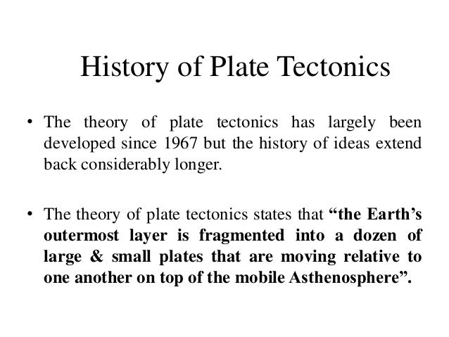 plate tectonics theories analysis Unlike most editing & proofreading services, we edit for everything: grammar, spelling, punctuation, idea flow, sentence structure, & more get started now.
