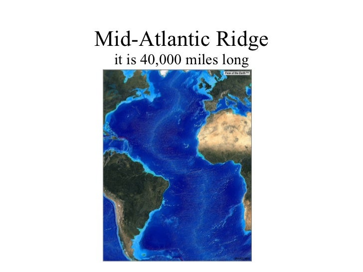 magnetic reversal mid ocean ridges - photo #38