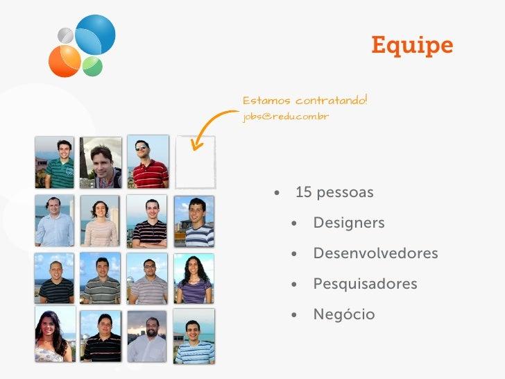 Introdução a plataforma de aplicativos Redu Slide 3
