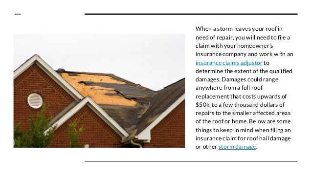 What Insurance Adjusters Look for In Storm Damaged Roofs