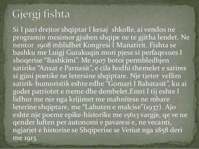 Si I pari drejtor shqiptar I kesaj shkolle, ai vendos ne  programin mesimor gjuhen shqipe ne te gjitha lendet. Ne  nentor ...