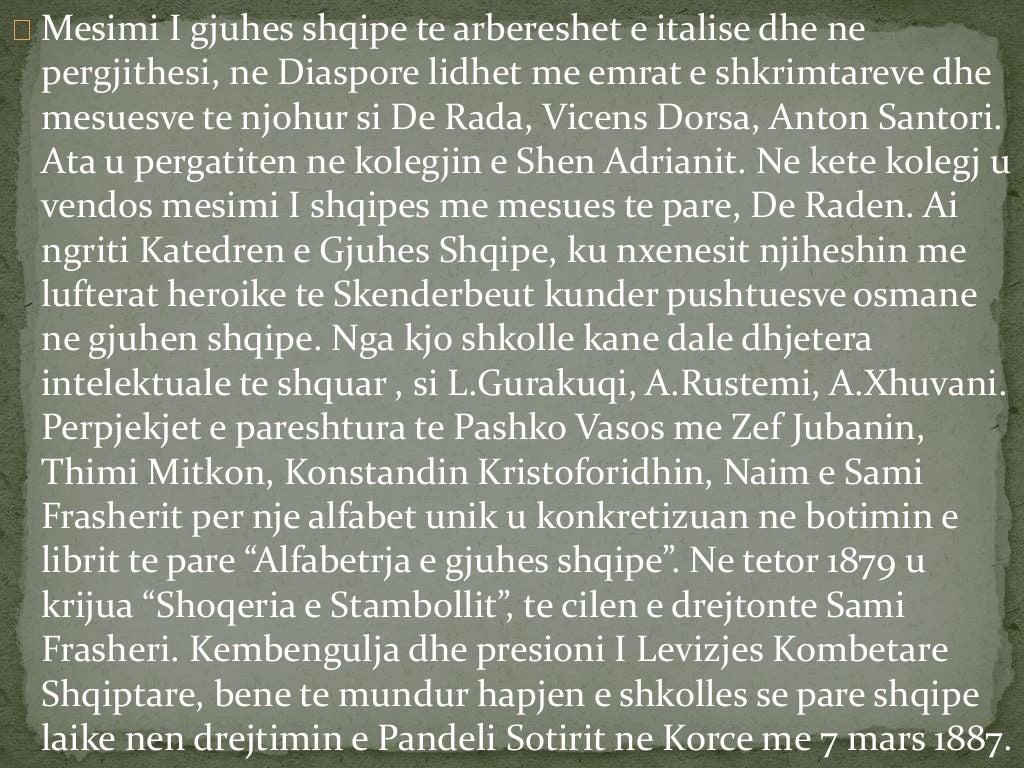 Me 1909, qeveria turke mbylli te gjitha shkollat shqipe dhe  dha urdher te prere te shuhen ne zjarr te gjithe librat,  dok...