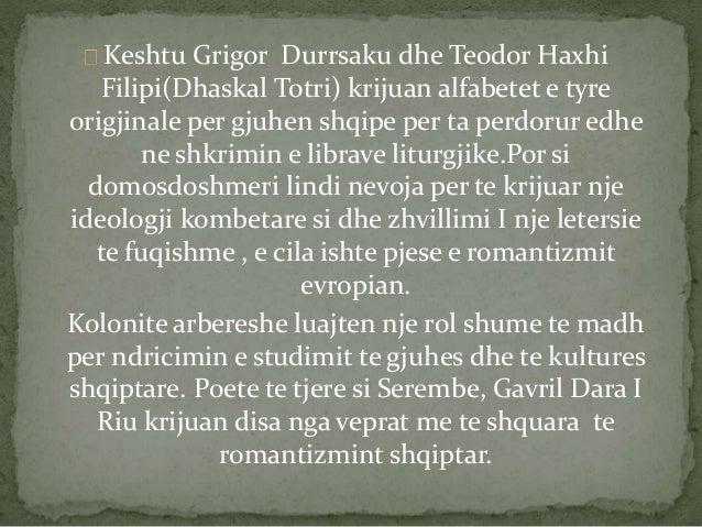 Keshtu Grigor Durrsaku dhe Teodor Haxhi  Filipi(Dhaskal Totri) krijuan alfabetet e tyre  origjinale per gjuhen shqipe per ...