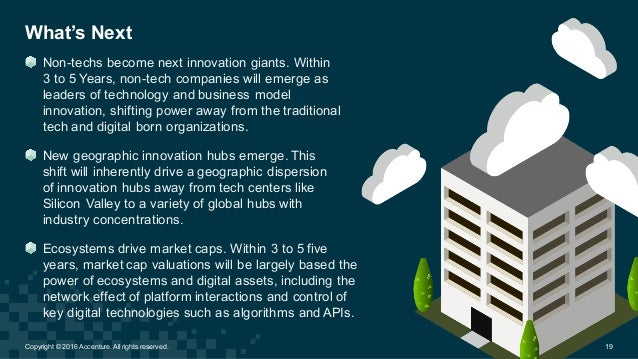 What's Next Non-techs become next innovation giants. Within  3 to 5 Years, non-tech companies will emerge ...