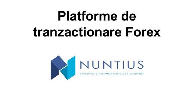 Tranzactionare forex