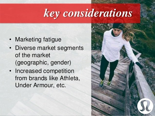 lululemon case study Hence it is pertinent to study lululemon's business prospects using this model buyers perspective in the case of lululemon,.
