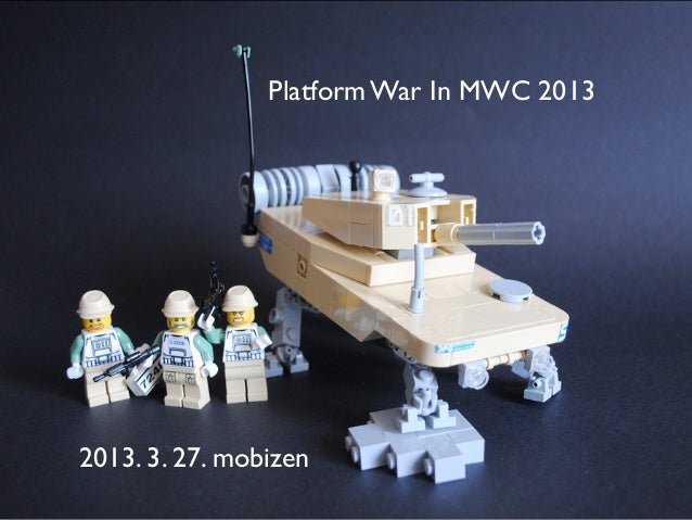 Platform War In MWC 20132013. 3. 27. mobizen