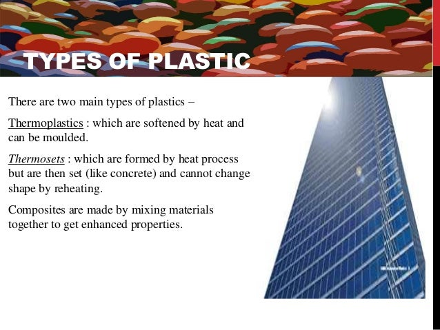 Products and uses  of Thermoplasts