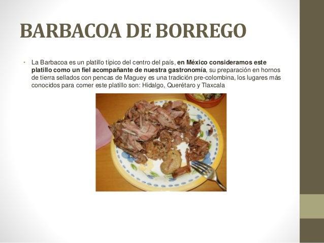 BARBACOA DE BORREGO • La Barbacoa es un platillo típico del centro del país, en México consideramos este platillo como un ...