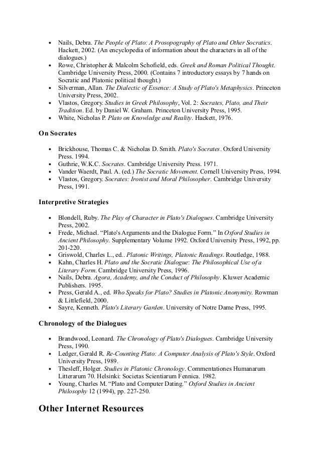 philosophy essays platonic epistemology socratic 2018-1-25  home reviews philosophy (reviews) plato, metaphysics, and the forms  the platonic theory of the forms as an  and connects plato's epistemology and.