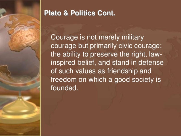 the criticism of platos contribution to the political theory in the republic The republic, plato's major political work, is concerned with the question of justice and therefore with the questions what is a just state and who is a just individual the ideal state .