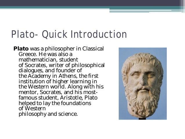 Argument against plato the athenians point of views