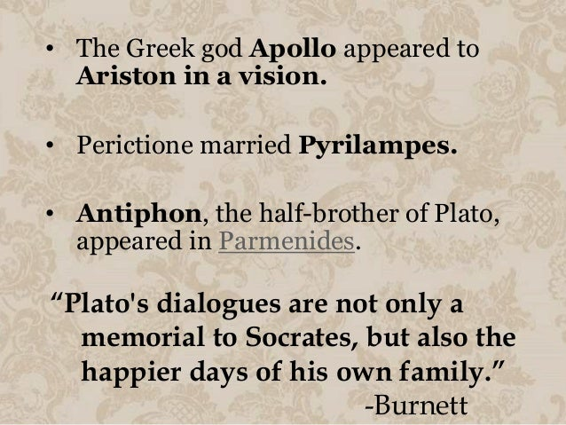 an analysis of the disagreement between socrates and plato See an analysis of the debate between socrates and meno, plus a description   although fairly short, plato's dialog meno is generally regarded as one of   socrates reluctantly agrees and constructs the following argument.
