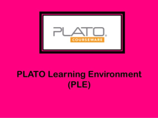 What is the PLATO Learning Environment?