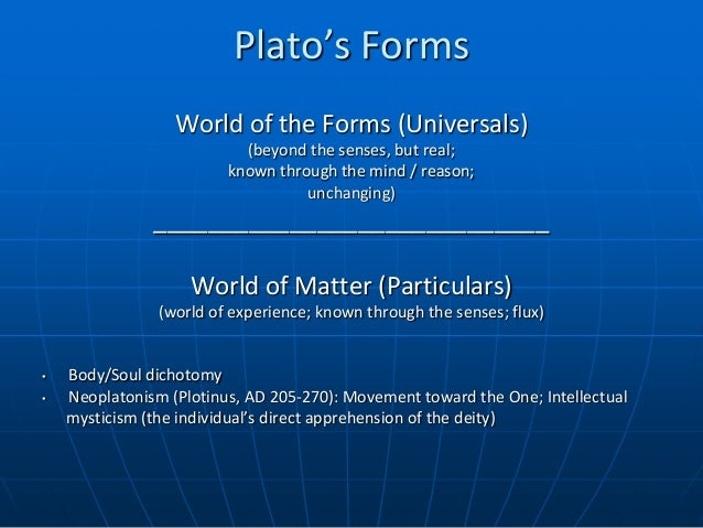 plato and aristotle views on forms Aristotle vs plato plato versus aristotle plato and aristotle, two philosophers in the 4th century, hold polar views on politics and philosophy in general.