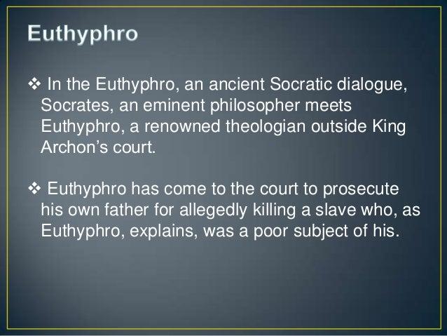 Euthyphro apology essay