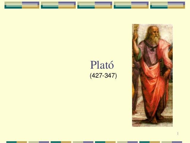 1 Plató (427-347)