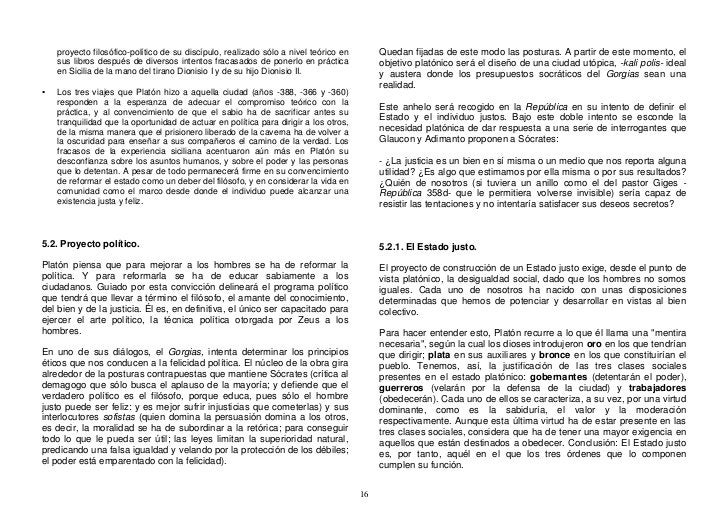 proyecto filosófico-político de su discípulo, realizado sólo a nivel teórico en        Quedan fijadas de este modo las pos...