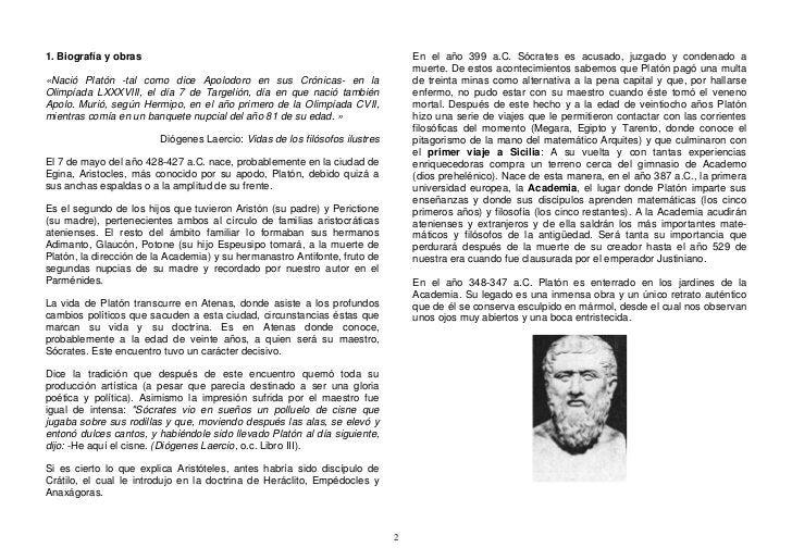 En el año 399 a.C. Sócrates es acusado, juzgado y condenado a 1. Biografía y obras                                        ...