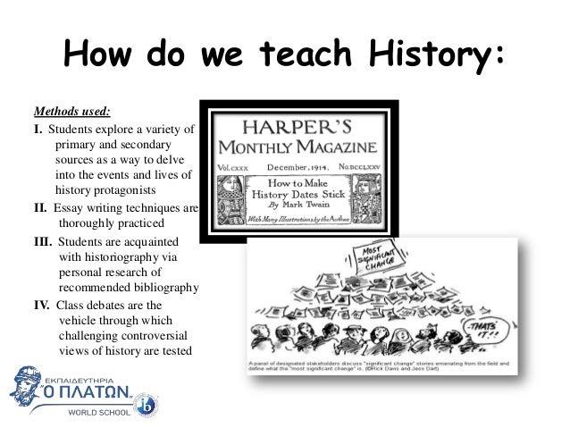 Platon IB Diploma: History