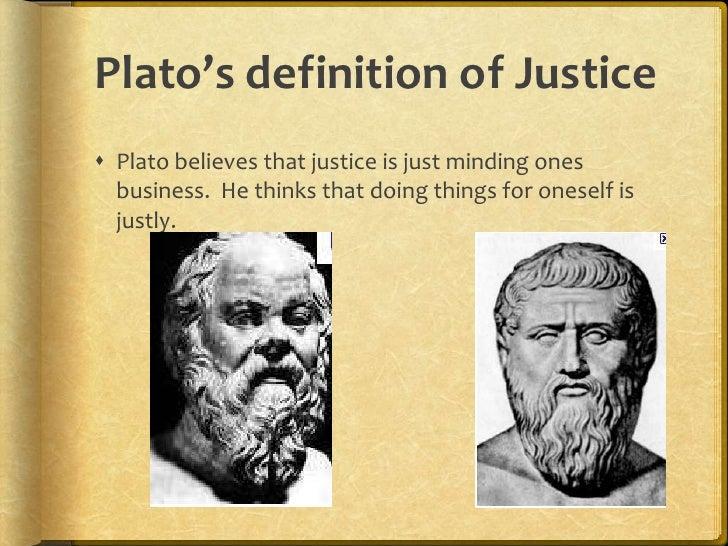 platos theory of justice quora