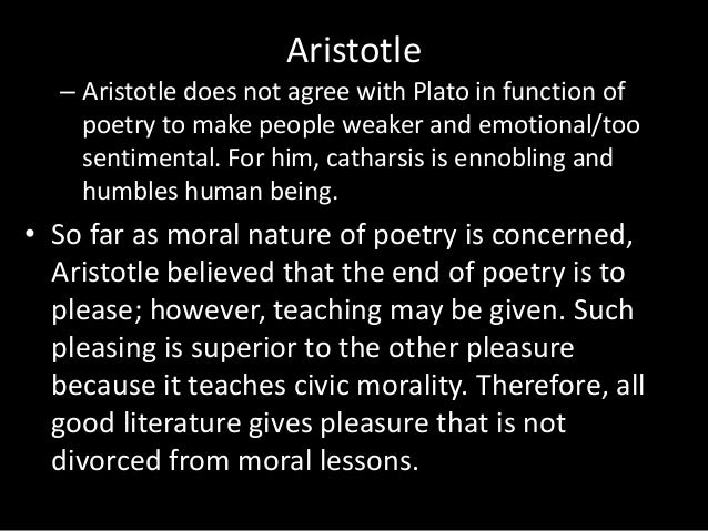 aristotles defense of poetry against plato Buy classical literary criticism: plato: ion republic 2-3, 1 aristotle: poetics  horace: the art of poetry longinus: on the sublime (penguin classics) 2rev ed  by penelope  aristotle responded by defending the value of art in his poetics.