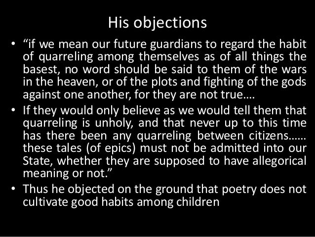 platos objection to poetry essay This video is unavailable watch queue queue watch queue queue.