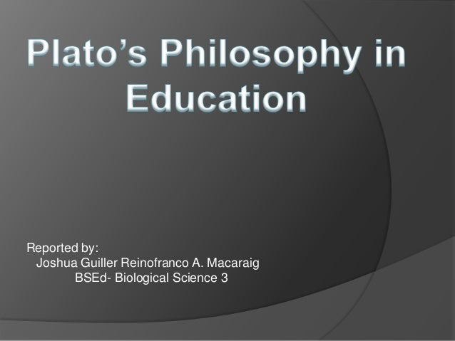 plato essays education An essay or paper on the role of education in plato's republic the role and significance of education with regard to political and social institutions is a subject that has interested political philosophers for millennia.