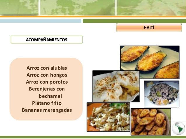 Platos tipicos guyana francesa y hait for Verduras tipicas de francia