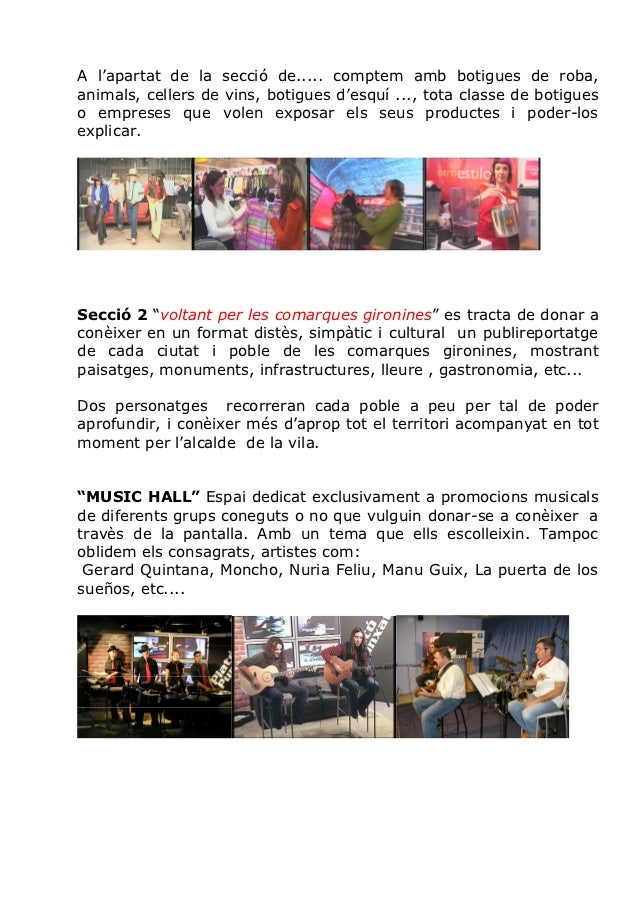 Plató Punxat TV Girona amb Albert Niell Slide 3