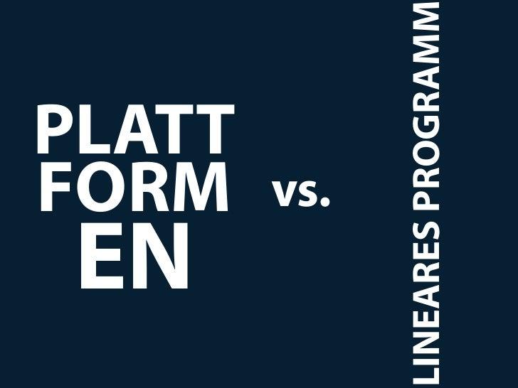 EN      FORM      PLATT       vs.LINEARES PROGRAMM