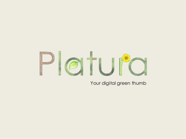 Your digital green thumb