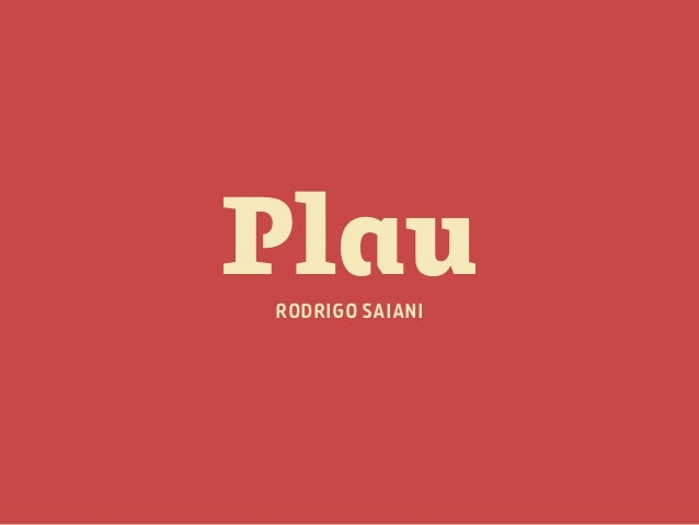 Tipografia para Web - Plau Branding, Type & Design. Slide 3