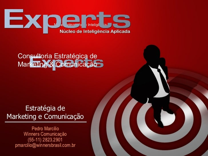 N úcleo Integrado de Inteligência C onsultoria Estratégica de Marketing & Comunicação  E stratégia de Marketing e Comunica...
