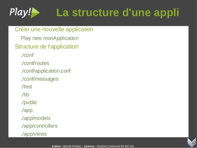 Auteur:Benoît Simard – Licence: Creative Commons BY-NC-SA. Lastructured'uneappli Créer une nouvelle application Play...