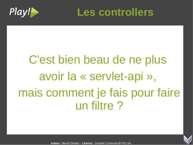 Auteur:Benoît Simard – Licence: Creative Commons BY-NC-SA. Lescontrollers C'est bien beau de ne plus avoir la « servle...