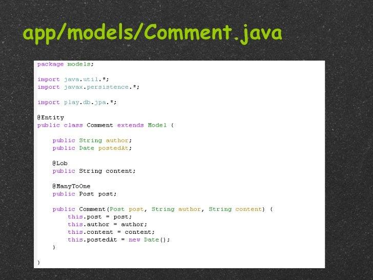 app/models/Comment.java