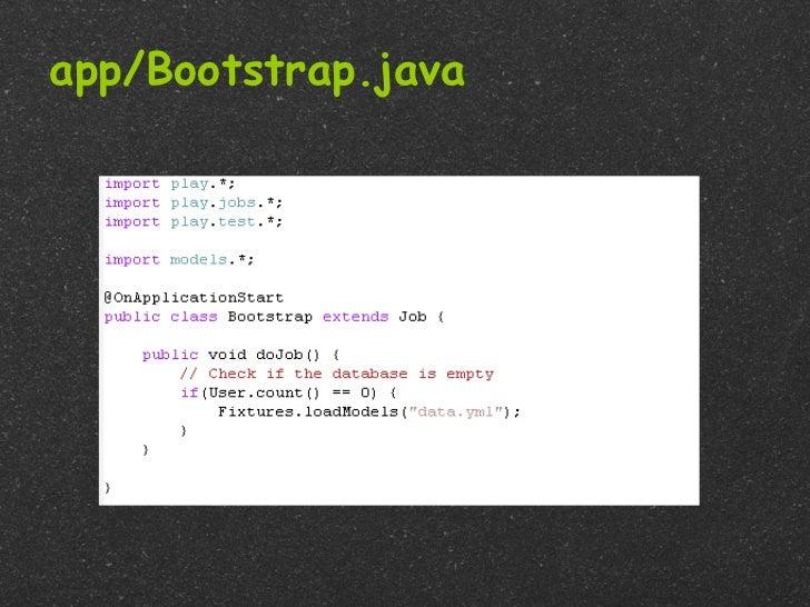 app/Bootstrap.java