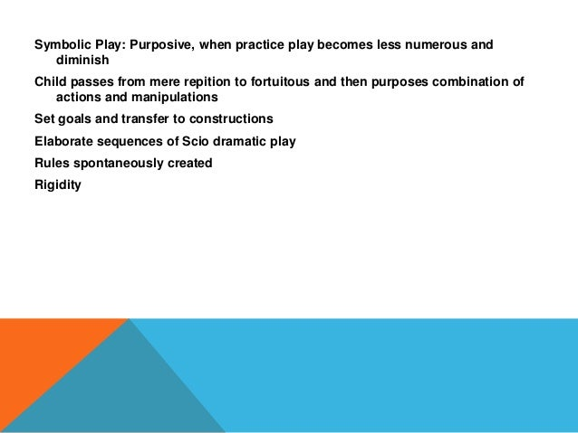 Play And Learning Developmental Psychology