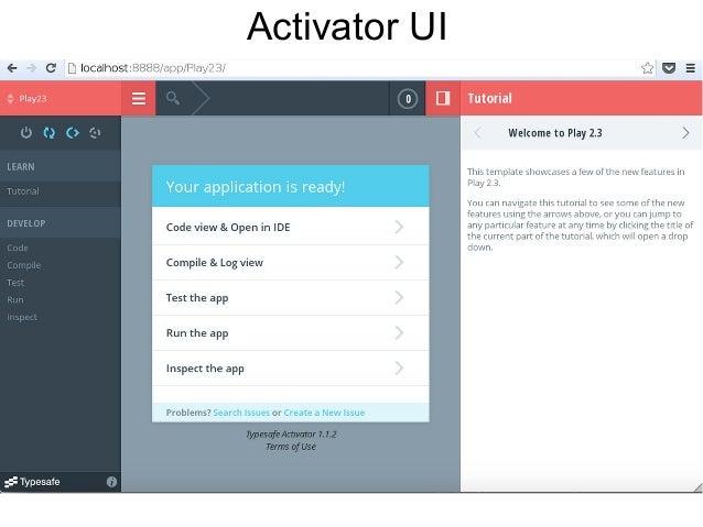 Activator UI