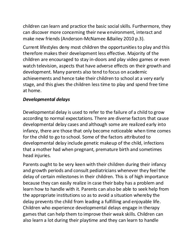 child development essays co child development essays