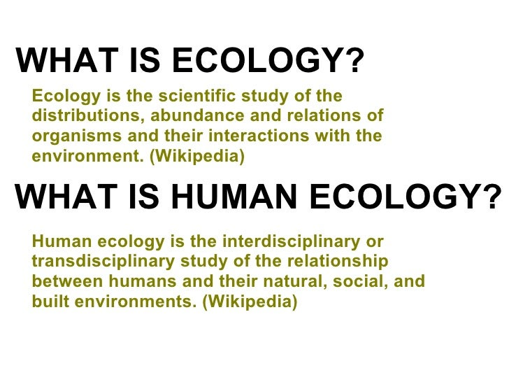 Human Relationship With Nature Wikipedia