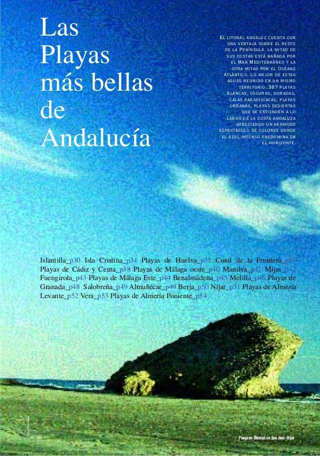 LasPlayasmás bellasdeAndalucíaIslantilla_p30 Isla Cristina_p34 Playas de Huelva_p35 Conil de la Frontera_p36Playas de Cádi...