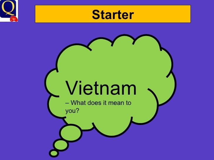 Starter Vietnam  – What does it mean to you?