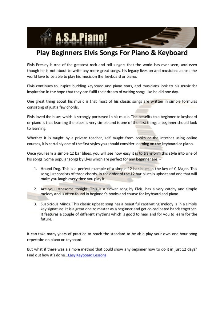 Play Beginners Elvis Songs For Piano Keyboard 1 728gcb1336131833