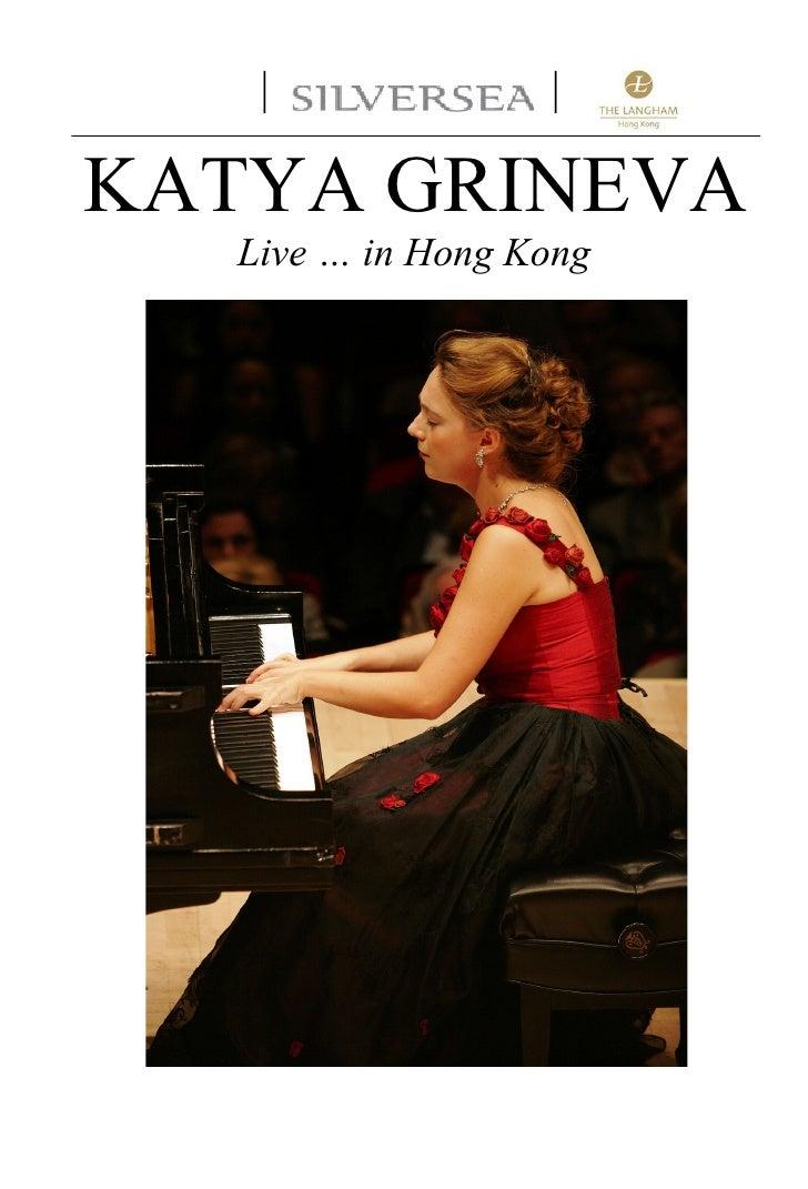 |              |  KATYA GRINEVA    Live … in Hong Kong