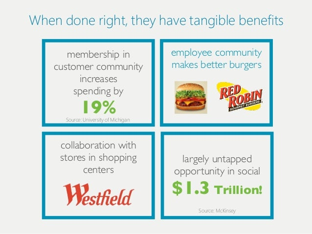 When done riіght, they have tangiіble benefiіts       membership in                       employee community    customer c...